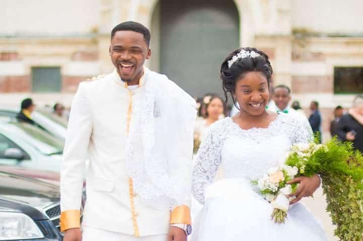 Mariage de Divine Mosaka & Moses Tshimanga