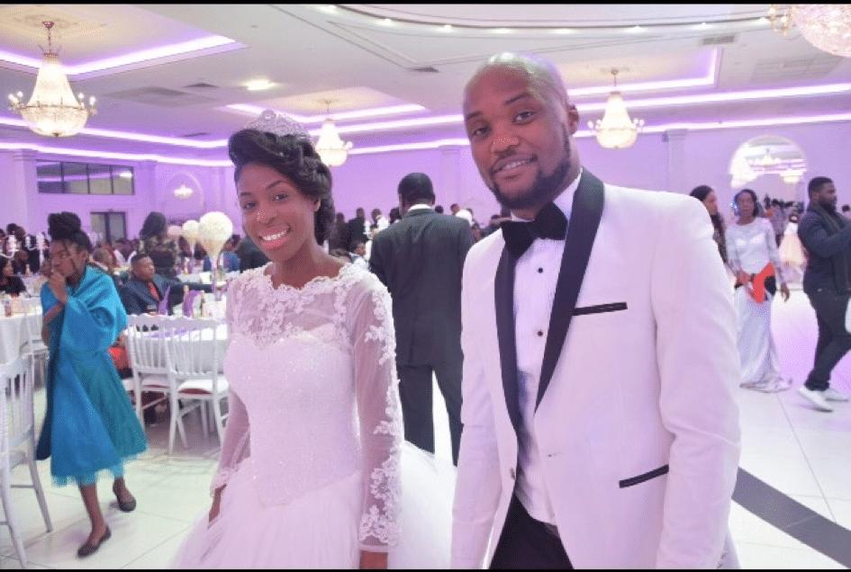 Mariage de Jonathan Losomba et Sarah Pinnock
