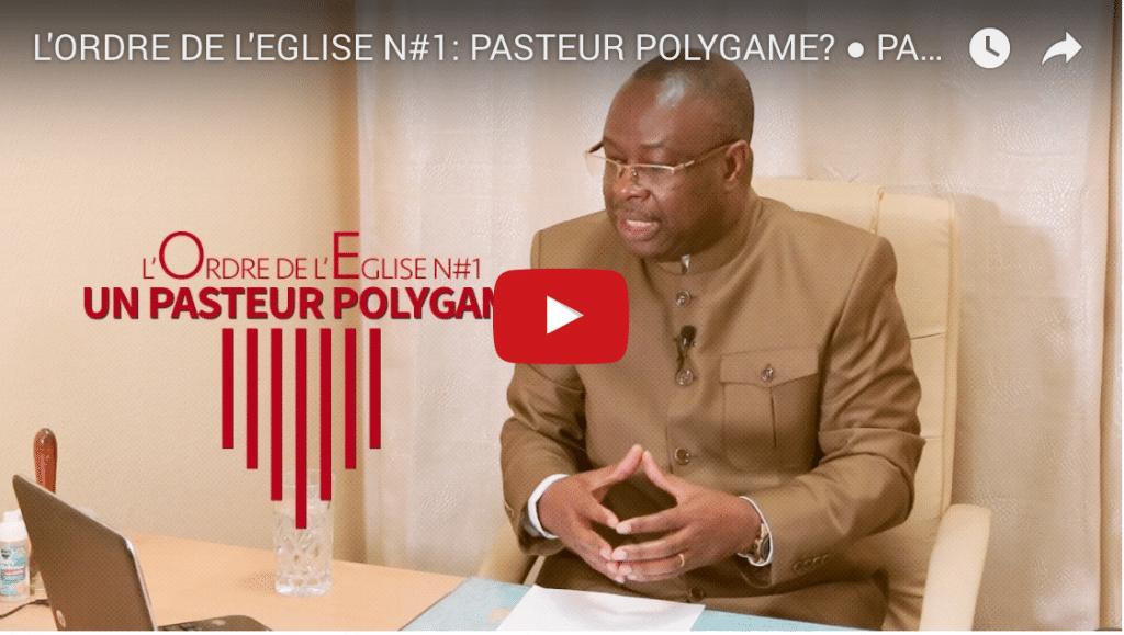 L'ordre de l'église n°1: Pasteur Polygame ?
