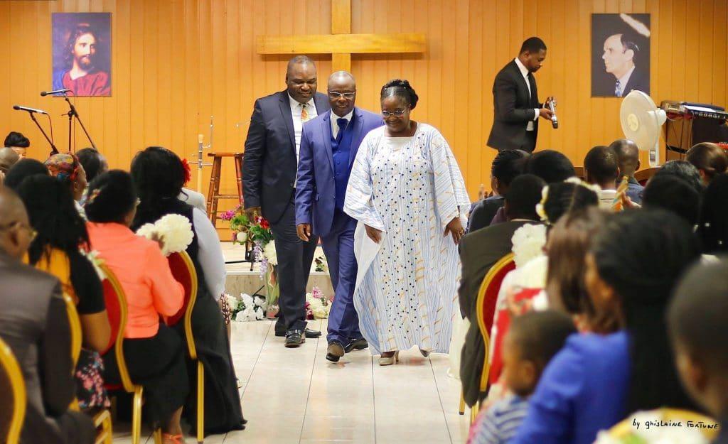 Renouvellement des voeux du Pasteur suivi d'un concert du Fr Sylvain Akouala