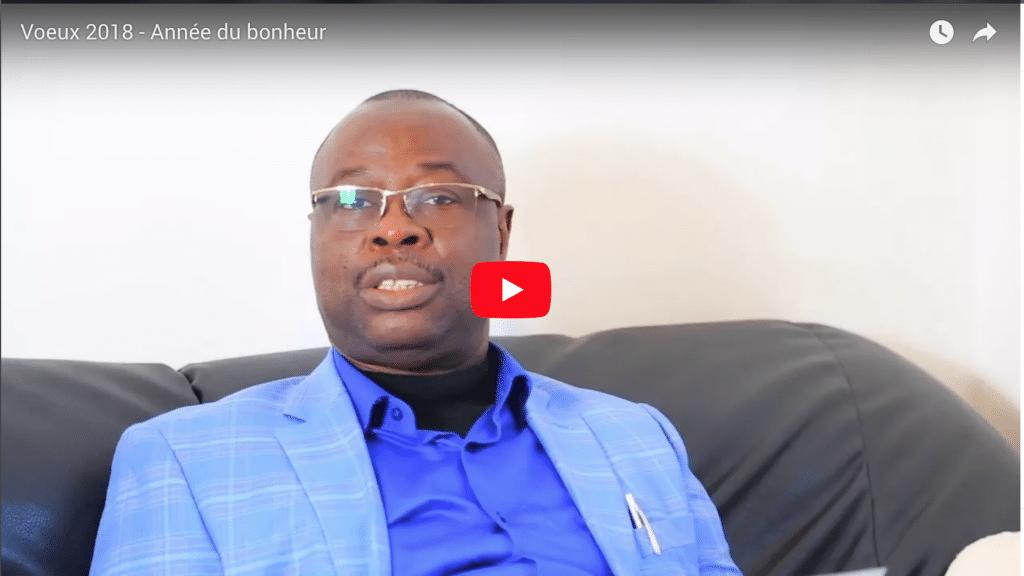 Voeux du Pasteur Arthur MOSAKA pour l'année 2018
