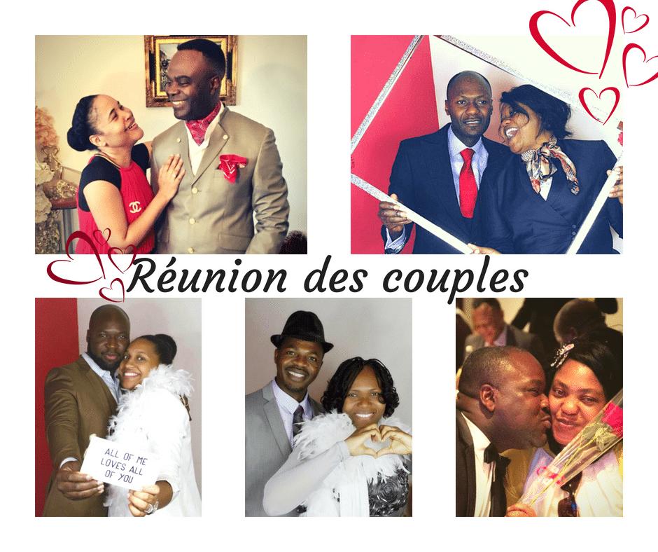 Réunions de couples 2018