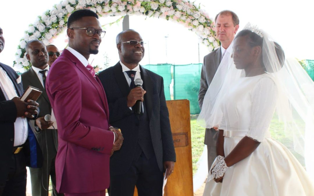 Mariage de Fr Yannick et Sr Sharonne